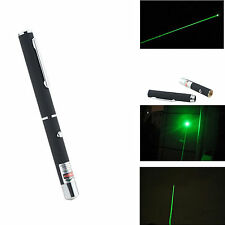 Luz Verde Puntero Láser Negro Shell Laser Pointer  532nm 1MW Green Laser Pointer