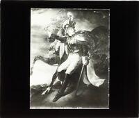 Photo d'après le tableau de Géricault Cuirassé Bléssé Plaque de Projection