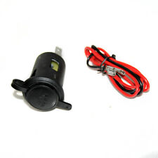 For Motorbike Boat 12V 24V Waterproof Power Car Cigarette Lighter Socket Plug