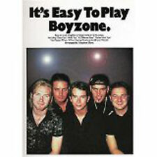 It's Easy To Play Boyzone Piano Sheet Music Book 12 Hit Songs Chords Lyrics S04