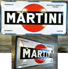Blechschild Martini Bar Hausbar gewölbt geprägt ca. 50 x 25 cm Dekoration NEU