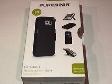 NEW PureGear Samsung Galaxy S6 Hip Credit Card Case Holster Combo W/ Belt Clip