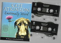 2 cassettes audio book EMOTIONALLY WEIRD kate atkinson read by frances tomelty