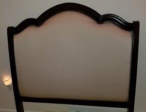 NEW Twin Bedroom Set & Sealy Posturpedic Memory Foam Mattress 6pc Set - Mahogony