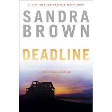 Brown, Sandra, Deadline, Very Good Book