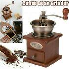 Kaffeemühle Holz Keramikmahlwerk Manuell Hand Kaffee Mahlen Retro Coffee Grinder