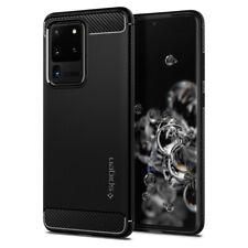 Samsung Galaxy S20, S20 Plus, S20 Ultra Case | Spigen® [Rugged Armor] Black