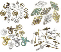 Mix Charms Pendants Assorted DIY For Crafting, Bracelet Necklace Antique Jewelry