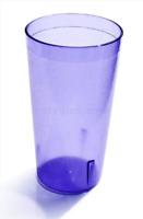 Set of 12 Plastic Blue Restaurant Drinking Tumbler Beverage Glass Cups 20 oz New