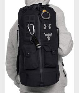 Under Armour Men's Project Rock 60 Bag Gym Bag EUC - FREE Shipping