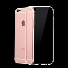 Soft Tpu Silicone Clear Transparent Phone Case Fits For iPhone 6 Plus/6S Plus