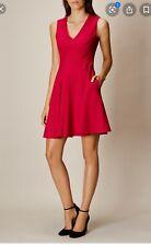 Karen Millen Fold Front Dress Fuschia UK12