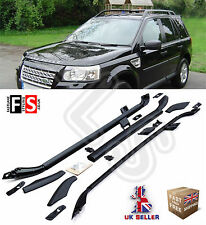 ROOF RAIL BARS SET + CROSS BAR 100% OEM STYLE FOR  LAND ROVER FREELANDER 2 07-13