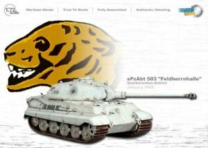 1/72 Dragon Armor Cyber-Hobby 60144 King Tiger s.pz.abt. 503 Feldherrnhalle