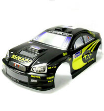 H6868-4 1/10 Scale Drift On Road Touring Body Cover Shell RC Black 190mm