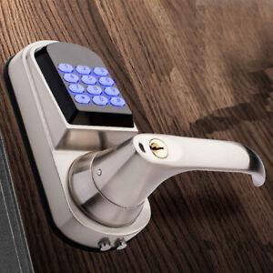 Automatic Keyless Entry Door Lock Digital Code Keypad Keypad Security US