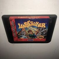 AUTHENTIC Sega Genesis LANDSTALKER Game Cartridge Tested & Working SAVES Fun