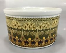 """Royal Doulton Parquet Oven China Souffle Dish Casserole 4 Cup 6 x 3.5"""" England"""