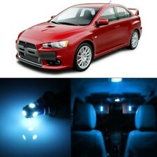 8 x Ice Blue LED Lights Package For Mitsubishi Lancer Evo X 2008 - 2017 + TOOL