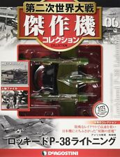 DeAgostini WW2 Aircraft Collection Vo6 fighter 1/72 Lockheed P-38 Lightning