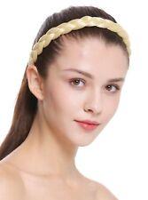 Haarband Haarreif geflochten Tracht traditionell hellblond braid CXT-007-026
