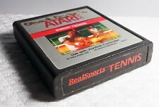Classic ATARI 2600 GAME! Cartridge RealSports Tennis!
