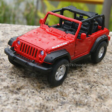 Jeep Wrangler 2007 Rubicon 1:32 Toy Model Cars Sound&Light New Alloy Diecast Red