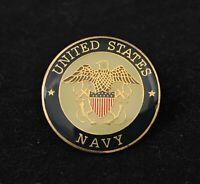 "🇺🇸US Navy Seal / Logo, USS USN Eagle & Anchor Emblem Hat Lapel Pin, 1"""