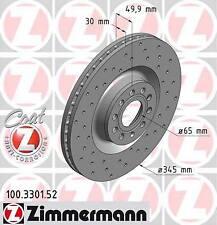 Promo jeu de disques perce zimmermann VW GOLF VII 7 1.6 TDI 4motion 81ch