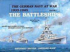 Book - The German Navy at War: Vol. I • The Battleships