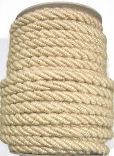 1 mtr Jumbo CORDE DE JUTE 10mm Naturelle ~ continuous-lengths