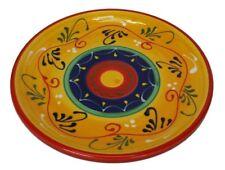 Round Dinner Plate / Serving Dish Tapas 26 cm Spanish Handmade Ceramic Pottery