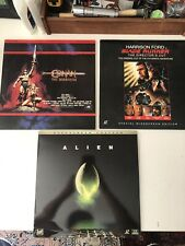 Alien, Conan, Blade Runner Laser Disc Lot. Excellent!