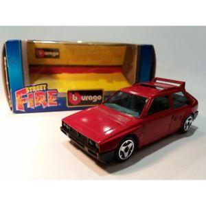 Burago Sreet Fire / Spear Delta S4 (Red) Scale 1:43 / Original Box MC45142