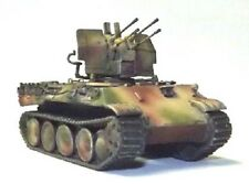 Milicast BG234 1/76 Resin WWII German Bergepanther Ausf D with 20mm Flakvierling