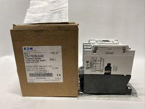 NEW Eaton Cutler Hammer CN15DN3AB Contactor Size 1