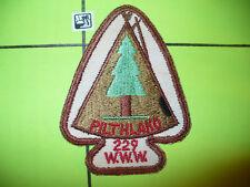 OA Pilthlako Lodge 229,A2b,1950s Tipi,Pine Tree Patch,pp,119,I Tsu La,Georgia,GA