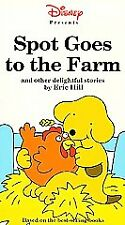 Spot Goes to the Farm VHS 1993 Walt Disney Eric Hill Tested Rare Non-Rental