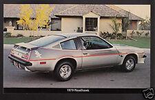 1979 BUICK ROADHAWK 2-Door Coupe Sports Car Dealer Photo POSTCARD