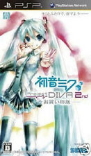 psp hatsune miku project diva 2nd best japan import game