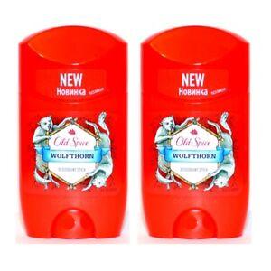 Old Spice WOLFTHORN Deodorant Stick / Deostick 50ml 2er Pack