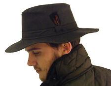 Campbell Cooper Brand New Australian Stockmans Bush Hat Brown Wax Cotton Medium
