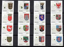 Germany 1992-1994 Coats of arms Bundesländer All sets complete MNH