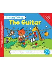 MUSIC FOR KIDS Starting To Play Guitar & CD Learn to Play MUSIC BOOK & CD