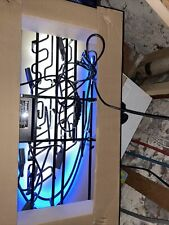 Bud Light Beer Neon Light Sign Beer Man Cave Bar Amazing Color New 2009