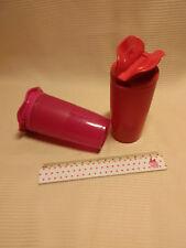 """Tupperware junge Welle Gewürzbehälter 2tlg. in pink + rot """"Rarität"""""""