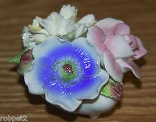 Royale Stratford Staffordshire Vintage Bone China Rose & Flowers Bouquet Shell
