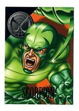 Fleer/Skybox 1996 Marvel Vision Card #17 Lethal Foes Card Scorpion