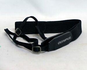 """Olympus SLR Film Digital P&S Camera Strap Genuine Used OEM 1"""" wide"""
