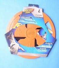 Nerf Dog Flyer Water Rubber Disk-Dog Toy